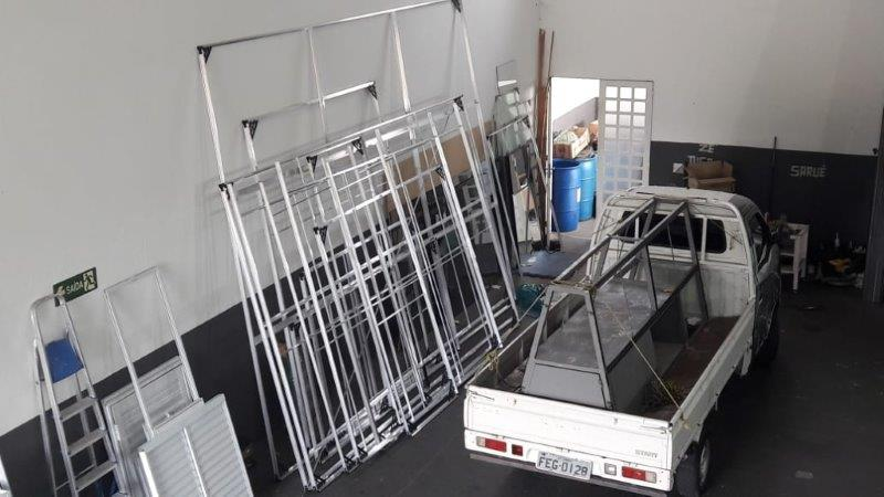 Fábrica de esquadrias de alumínio em vinhedo