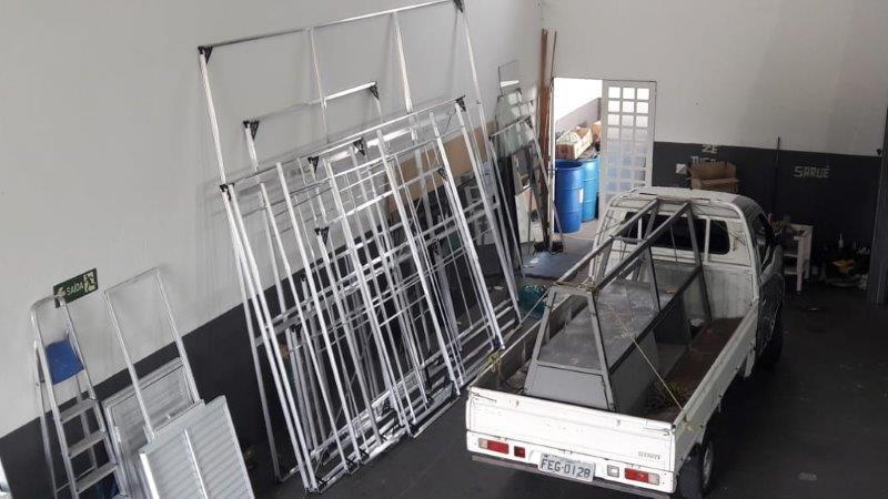 Loja de esquadrias de alumínio em campinas